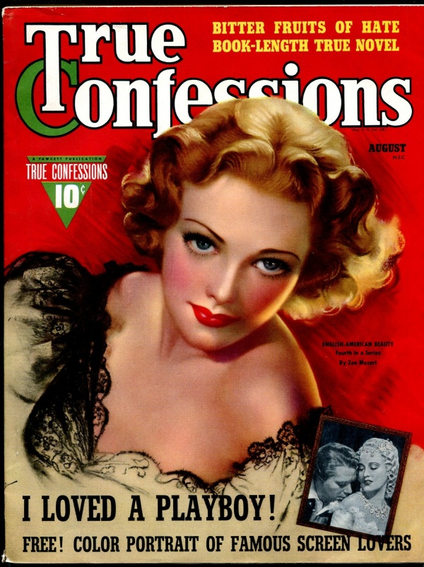 True Confessions August 1940