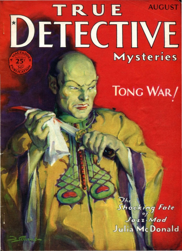 True Detective Mysteries, August 1930