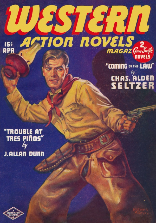 Western Action Novels April 1937