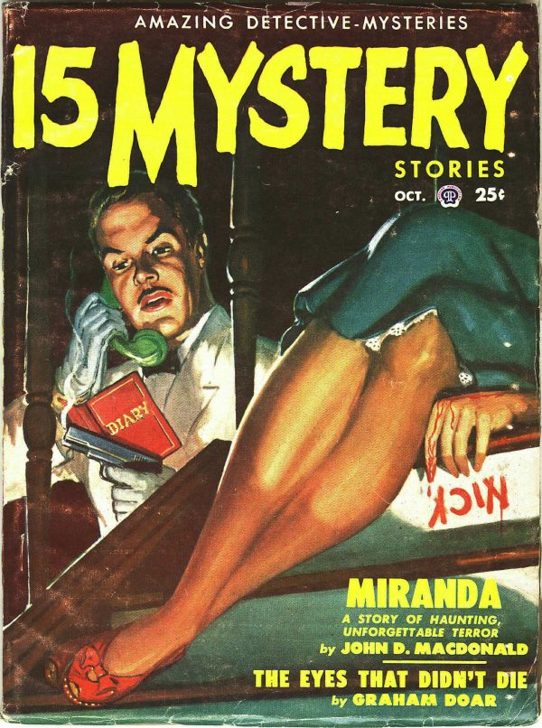 15 Mystery Stories October 1950