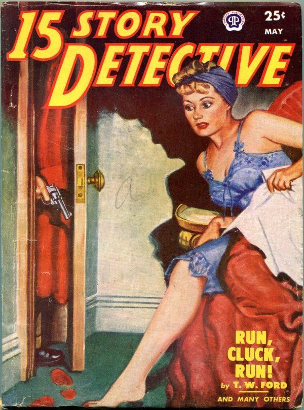 15 Story Detective May 1951
