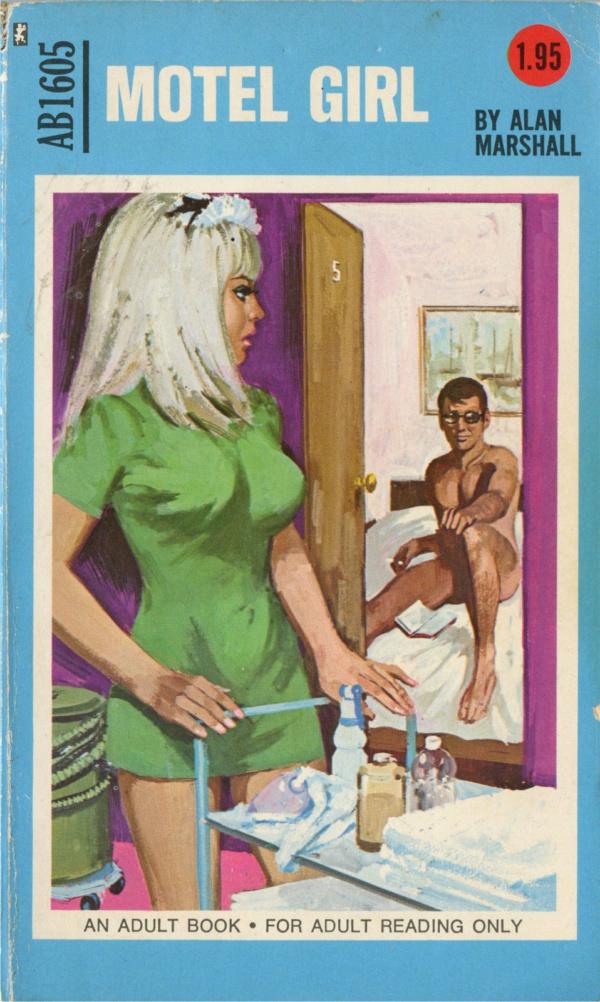 Adult Books AB1605 - Motel Girl (1972)