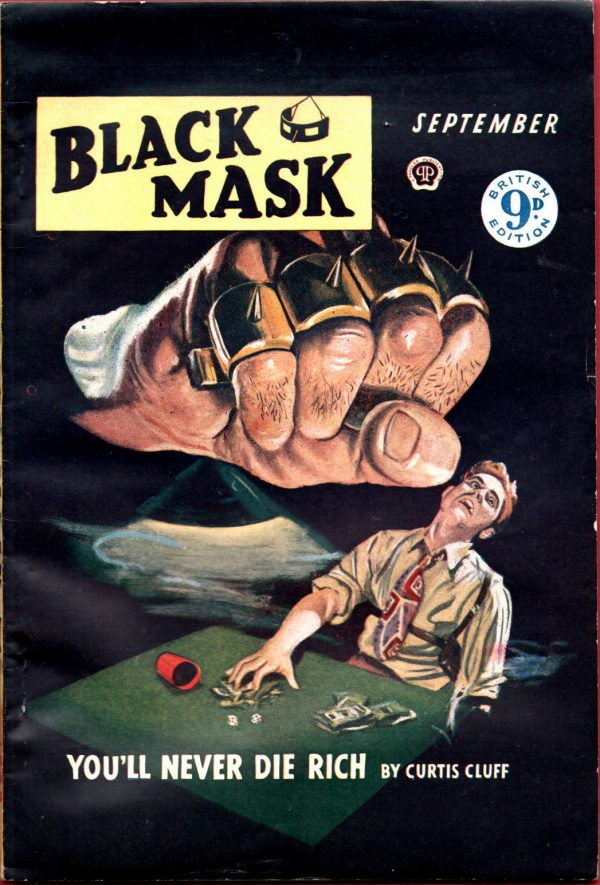 BLACK MASK DETECTIVEU.K.Ed.September 1949