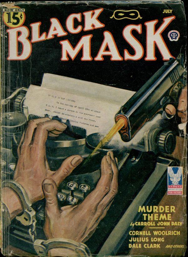 BLACK MASK July 1944