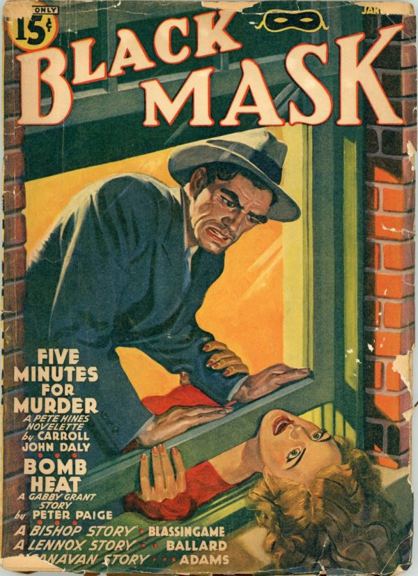 BLACK MASK. January, 1941