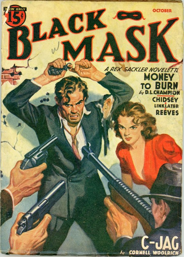 BLACK MASK. October, 1940