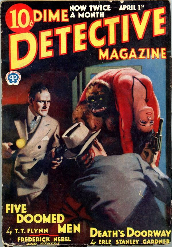 DIME DETECTIVE MAGAZINE. April 1, 1934