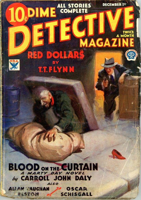 DIME DETECTIVE MAGAZINE. December 1, 1933