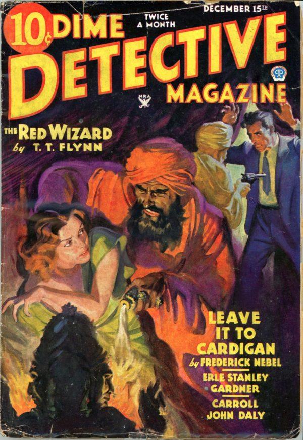 DIME DETECTIVE MAGAZINE. December 15, 1934
