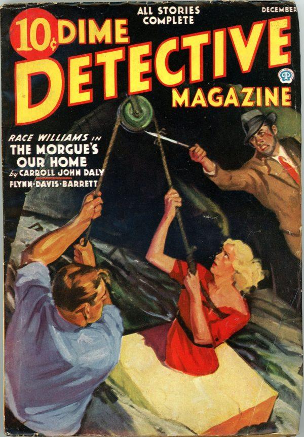 DIME DETECTIVE MAGAZINE. December 1936