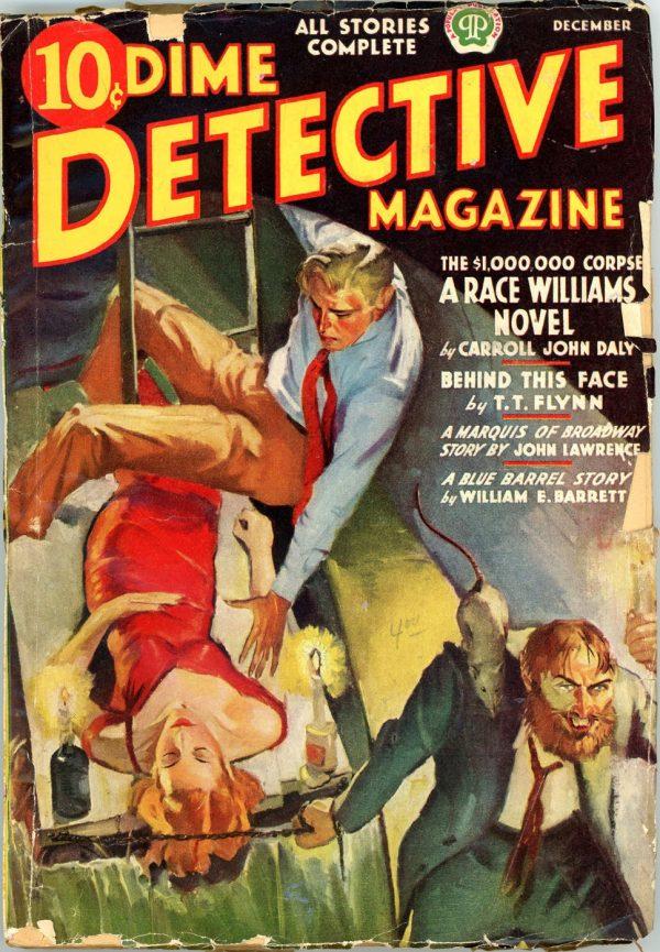 DIME DETECTIVE MAGAZINE. December 1937