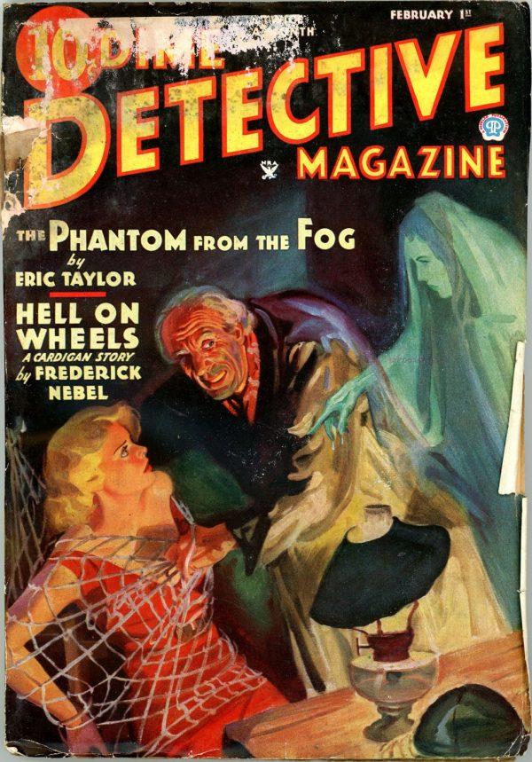 DIME DETECTIVE MAGAZINE. February 1, 1935