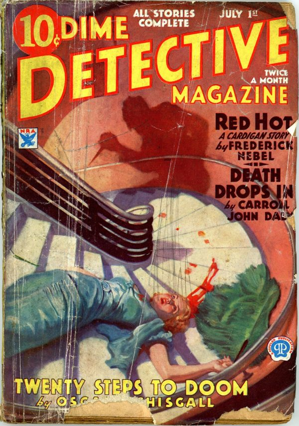 DIME DETECTIVE MAGAZINE. July 1, 1934