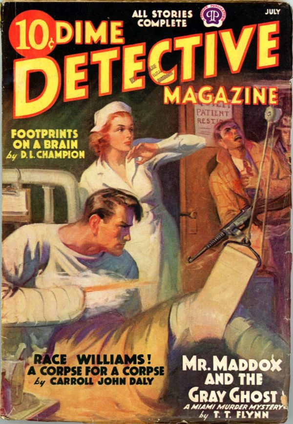 DIME DETECTIVE MAGAZINE. July 1938