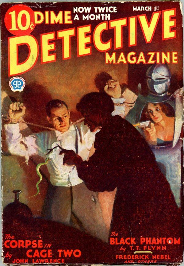 DIME DETECTIVE MAGAZINE. March 1, 1933
