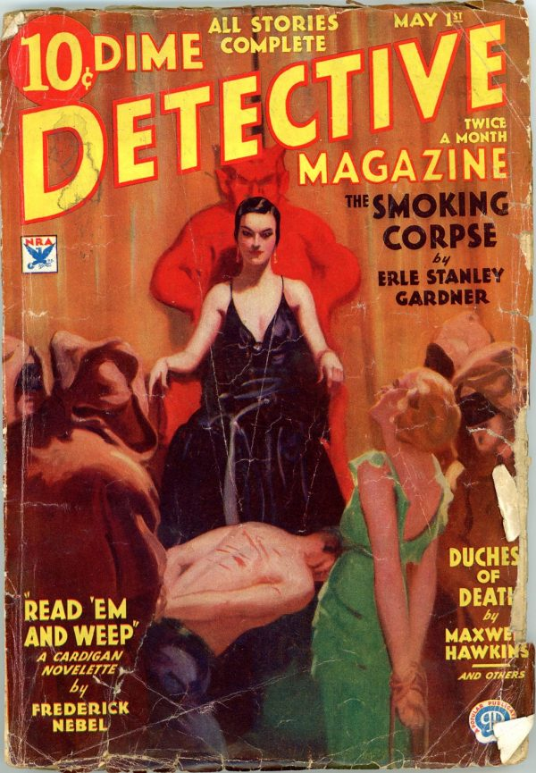 DIME DETECTIVE MAGAZINE. May 1, 1934