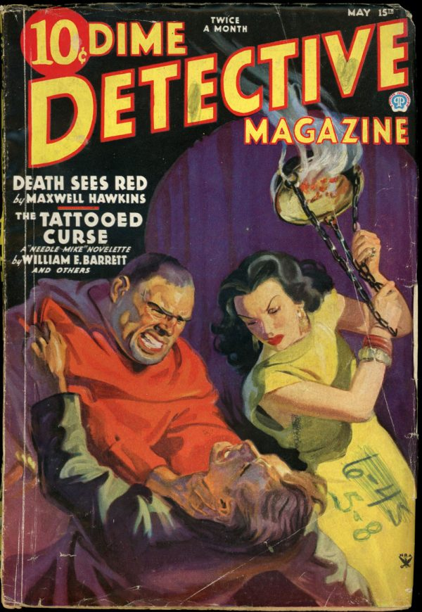 DIME DETECTIVE MAGAZINE. May 15, 1935