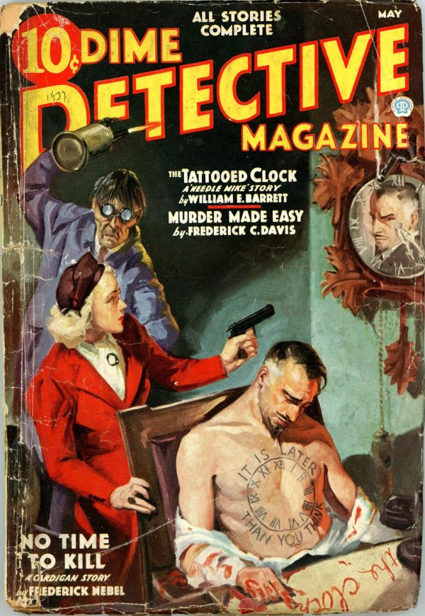 DIME DETECTIVE MAGAZINE. May 1937