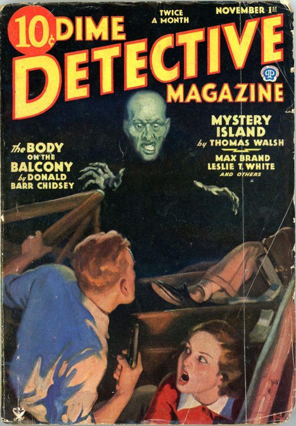 DIME DETECTIVE MAGAZINE. November 1, 1934