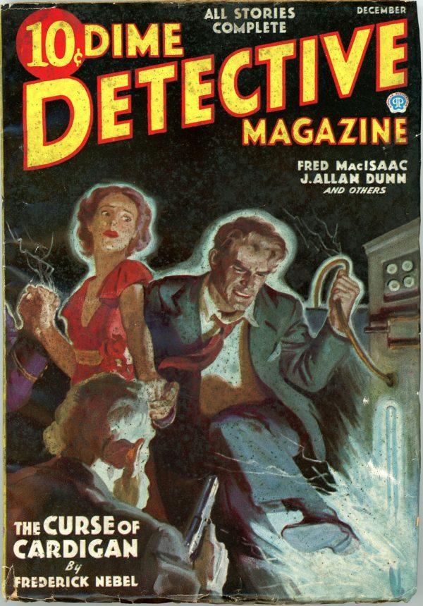 DIME DETECTIVE MAGAZINE. November, 1935