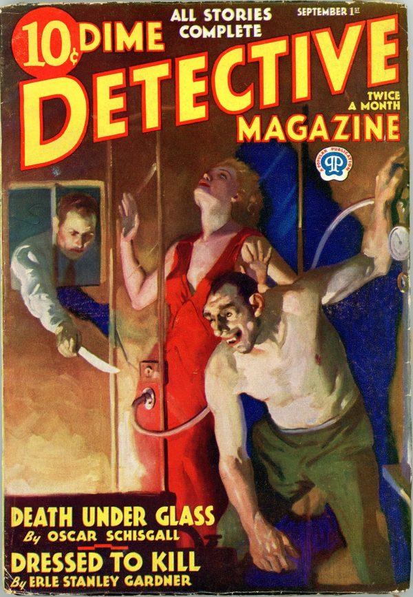 DIME DETECTIVE MAGAZINE. September 1, 1933