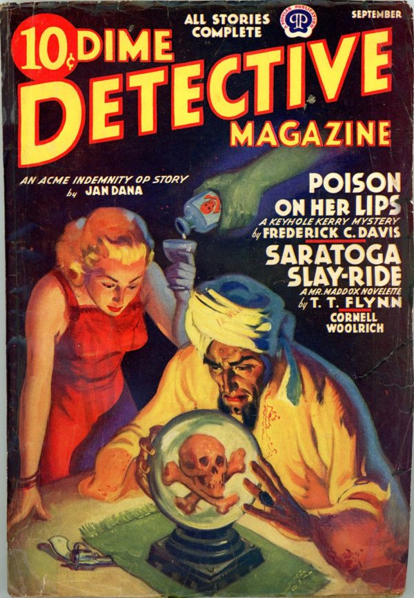 DIME DETECTIVE MAGAZINE. September 1939