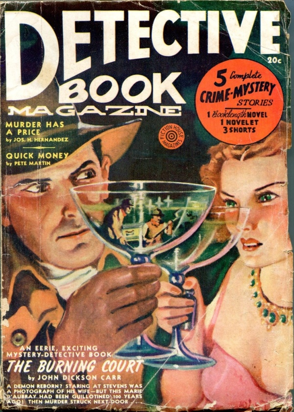 Detective Book Spring 1940