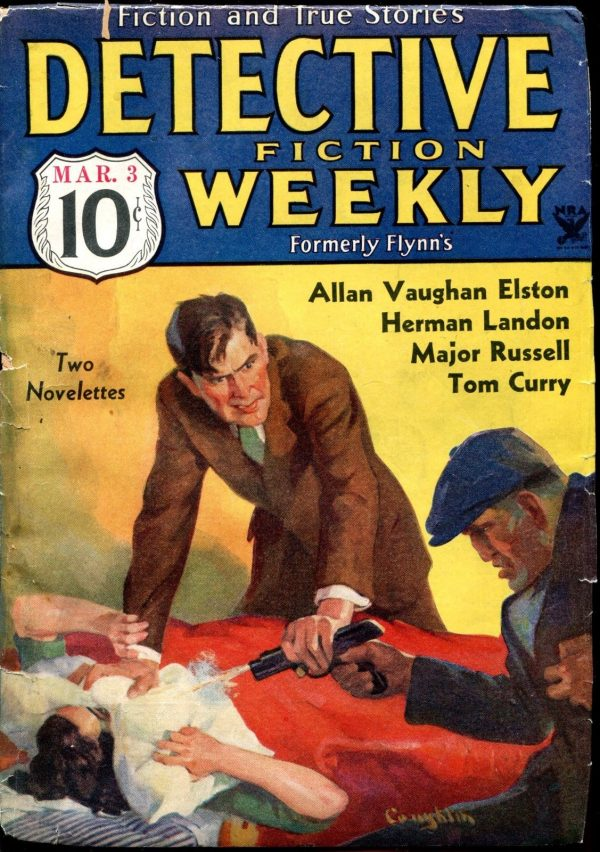 Detective Fiction Weekly March 3 1934