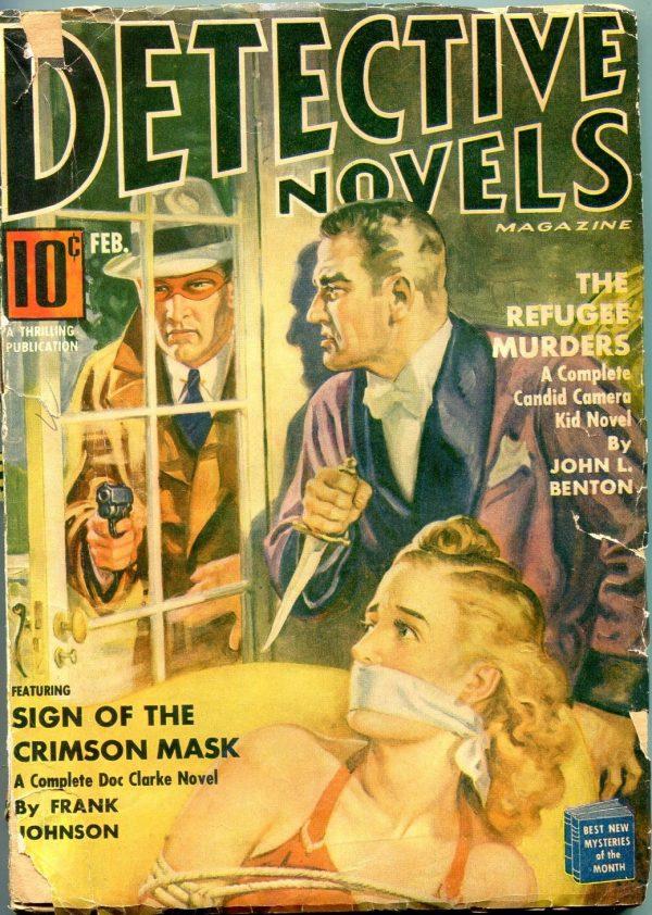 Detective Novels February 1941