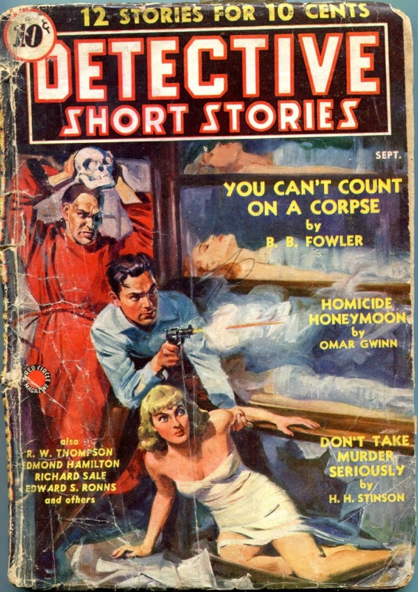 Detective Short Stories September 1939