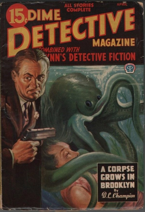 Dime Detective 1945 April. Canadian