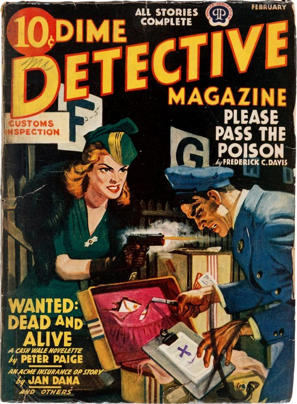 Dime Detective February 1941