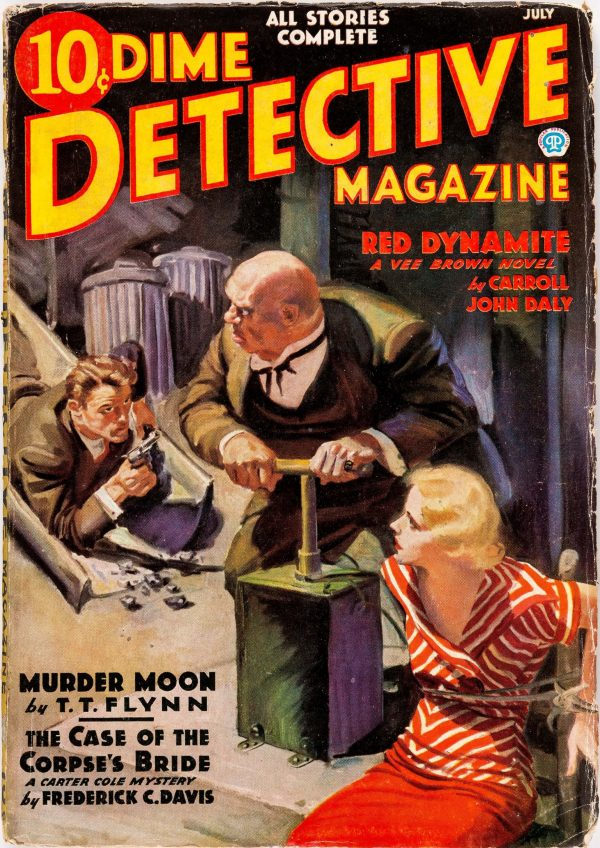Dime Detective - July 1936