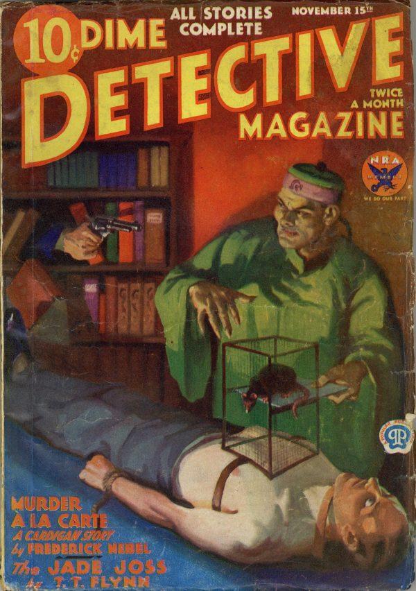 Dime Detective Magazine Nov 15 1933