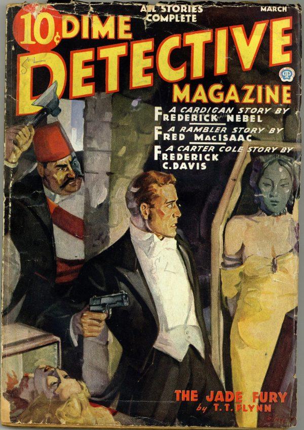 Dime Detective Magazine Pulp March 1937