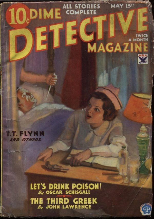 Dime Detective May 1934