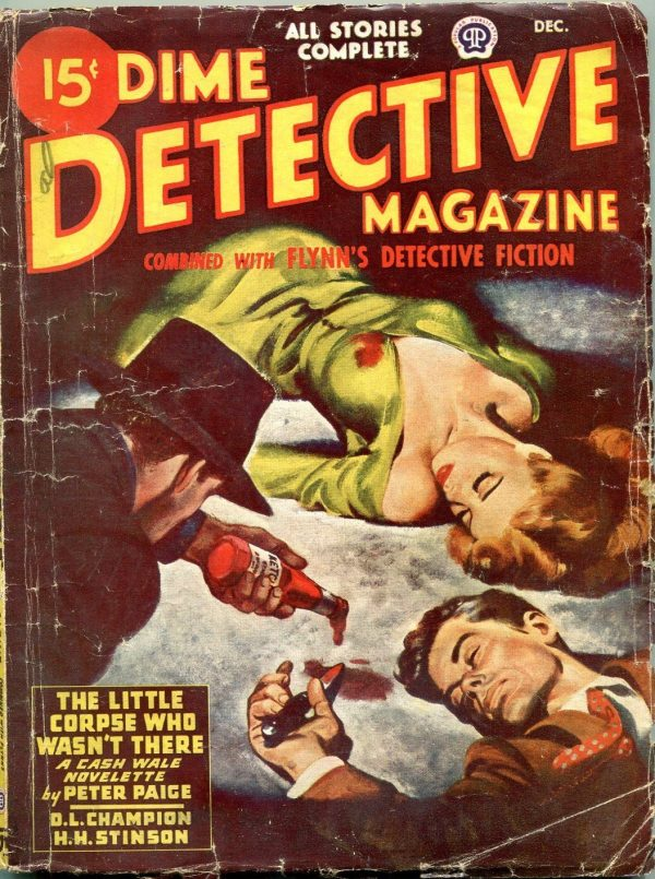 Dime Detective Pulp December 1946