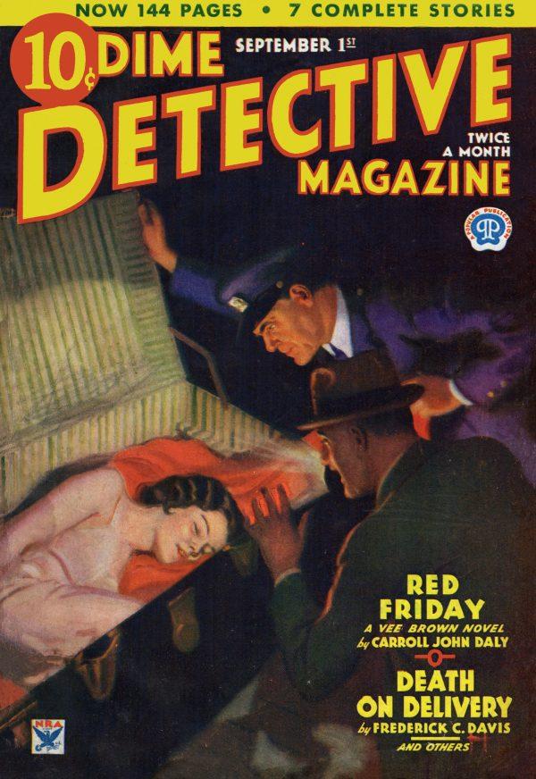 Dime Detective September 1, 1934