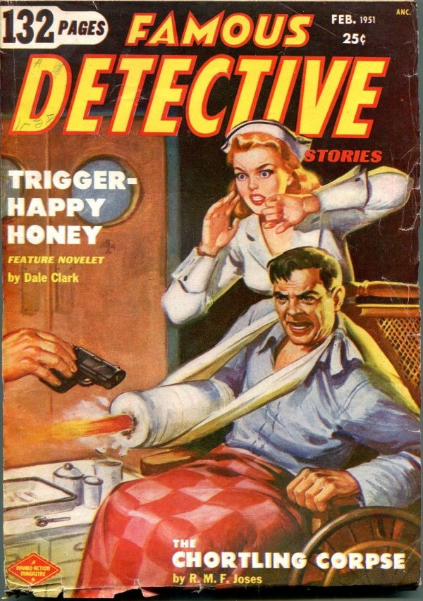 Famous Detective Stories February 1951