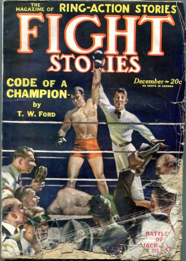 Fight Stories December 1928