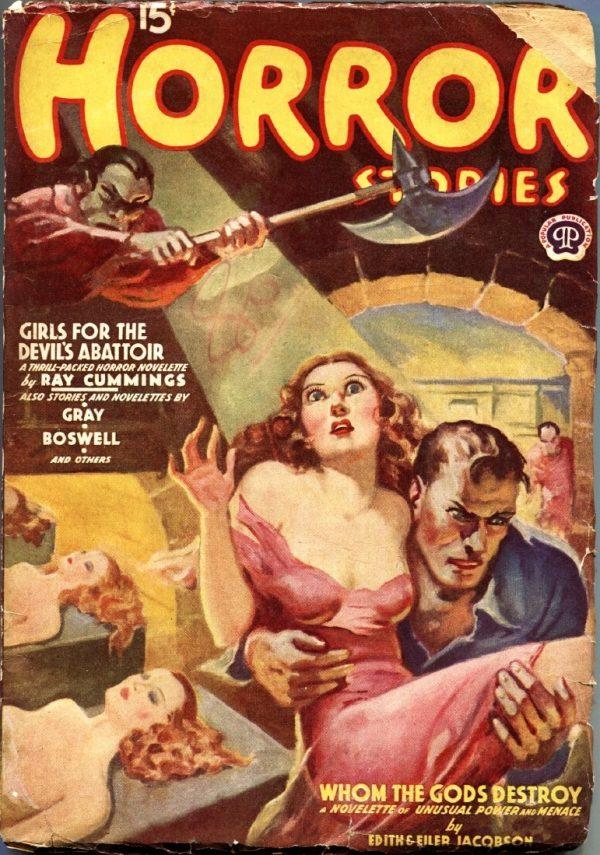 Horror Stories February 1939