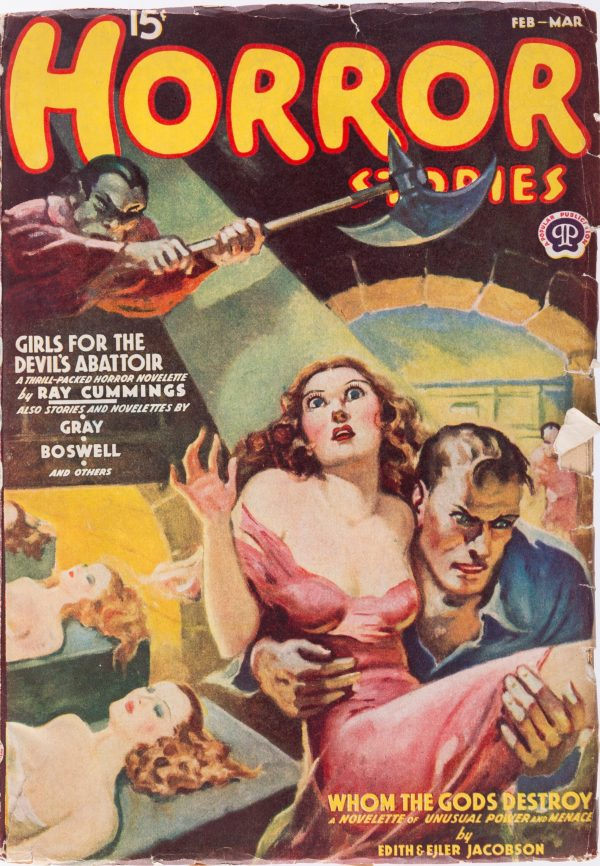 Horror Stories - February March 1939