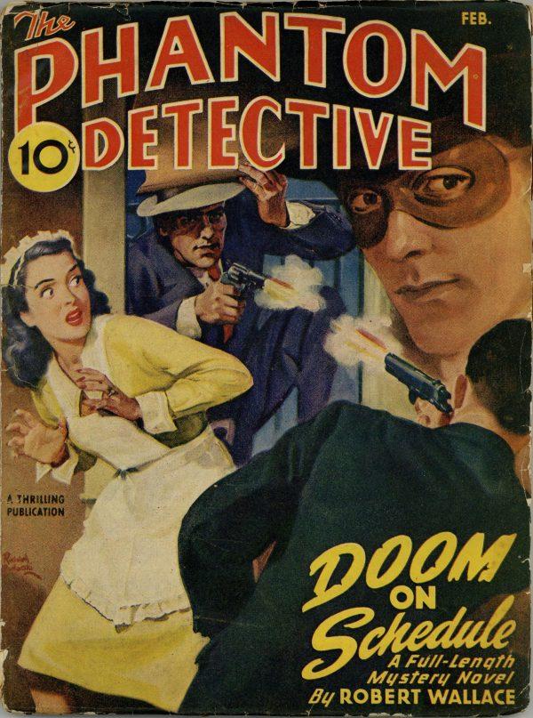 Phantom Detective 1946 February