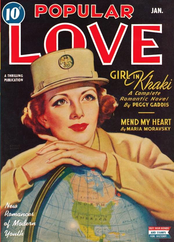 Popular Love January 1944