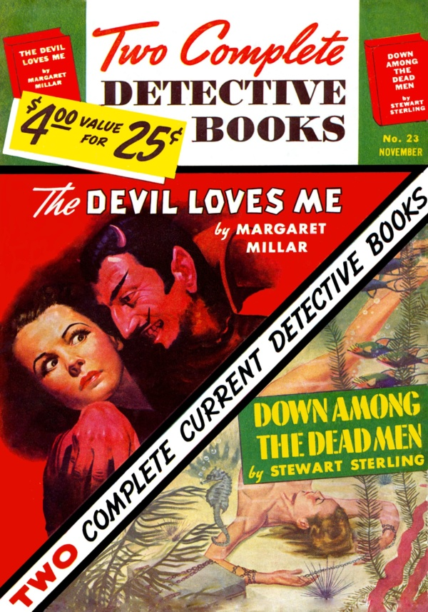 Two Complete Detective Books November 1943