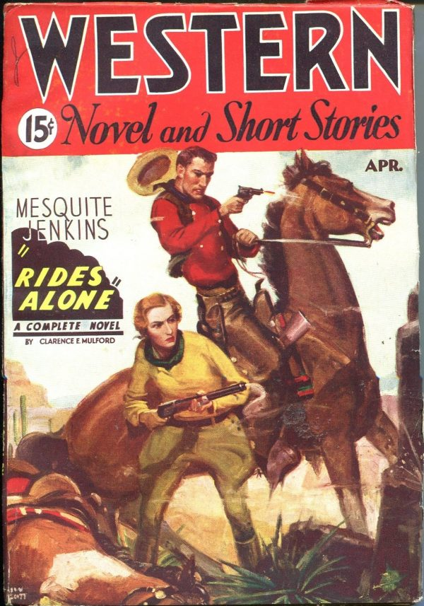 Western Novels And Short Stories April 1935