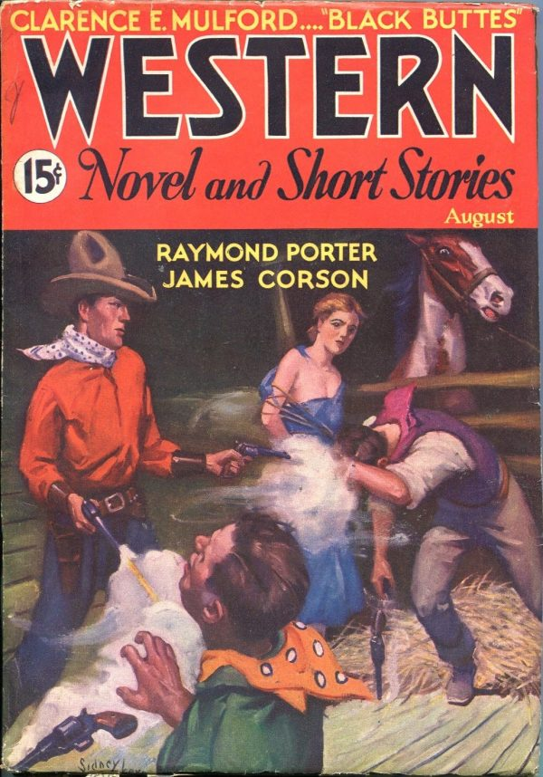 Western Novels And Short Stories August 1934