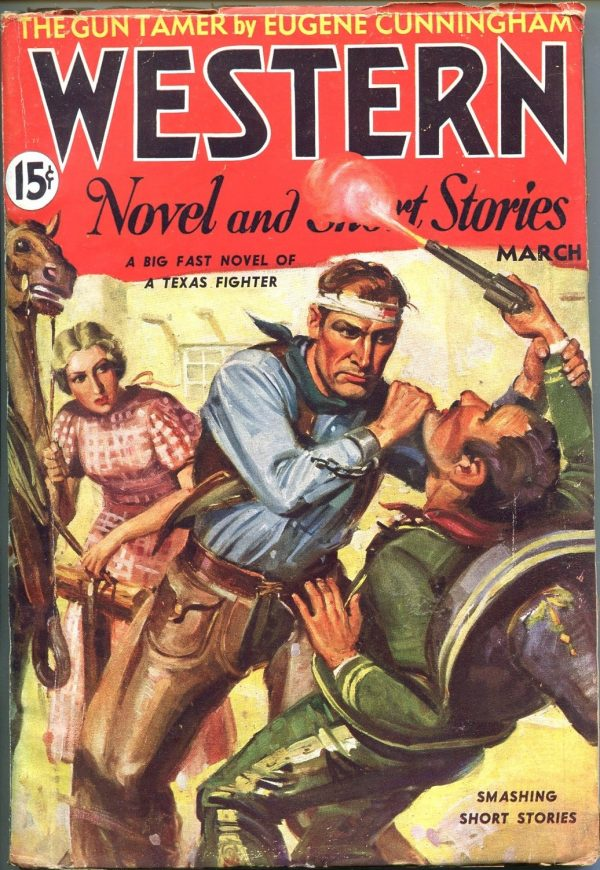 Western Novels And Short Stories March 1936