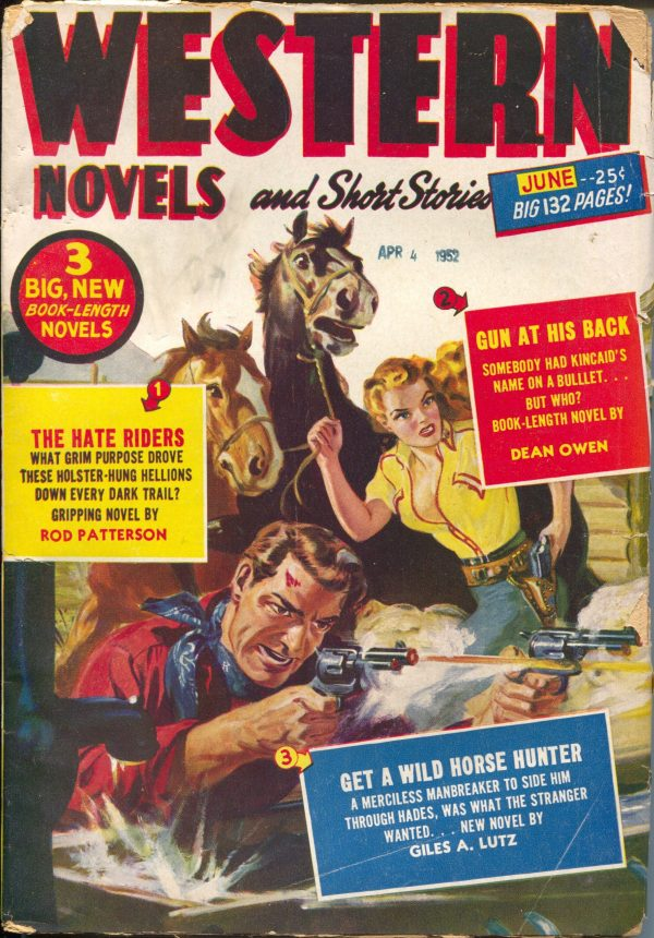 Western Novels & Short Stories June 1952