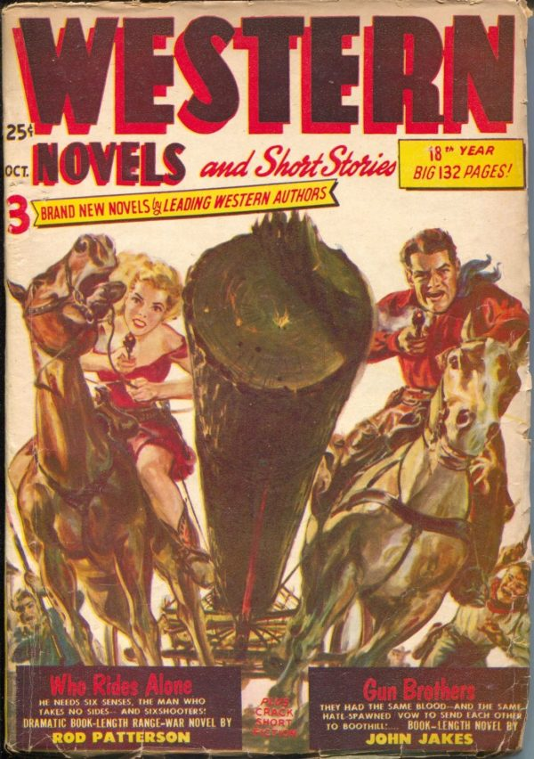 Western Novels and Short Stories October 1952
